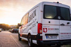 Der Beisner-Bus ist täglich im Umland und in Hamburg für Sie unterwegs!