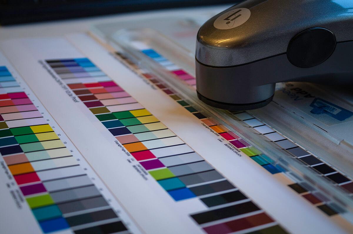 Vermessung eines Farbkeils